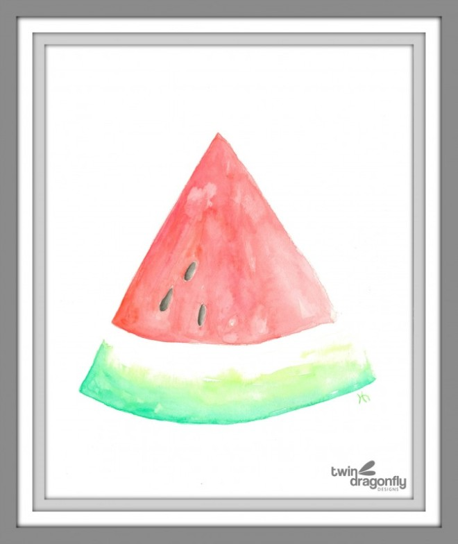 Watercolor-Watermelon-Printable-Art-673x800