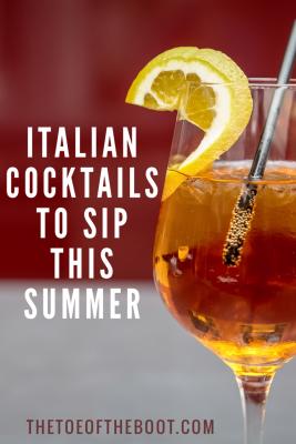 italian cocktails
